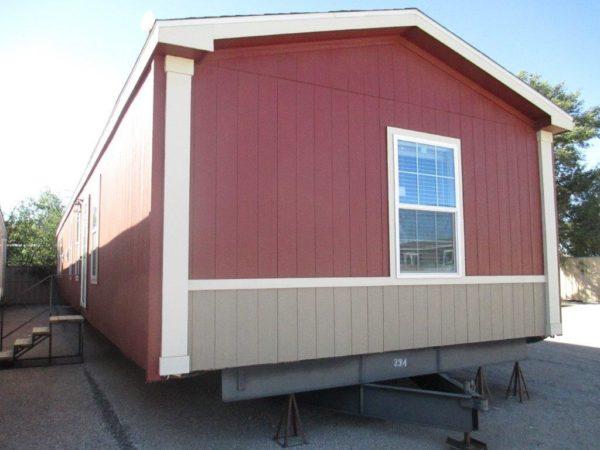 m-18 oak cream homes exterior